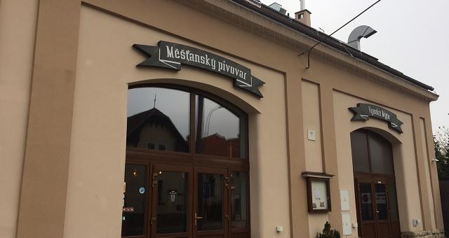 Návštěva Měšťanský pivovar Kujebák